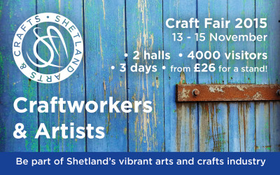 New Craftworkers & Artists required for the Craft Fair